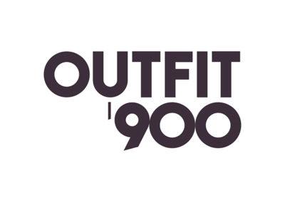 Outfit'900. Mostra a Palazzo Morando. Progettazione immagine coordinata