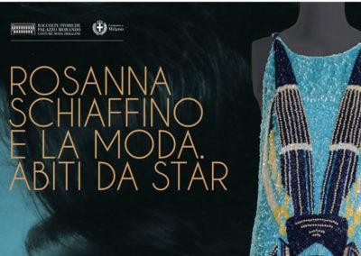 Rosanna Schiaffino e la Moda. Abiti da Star. Progetto immagine coordinata
